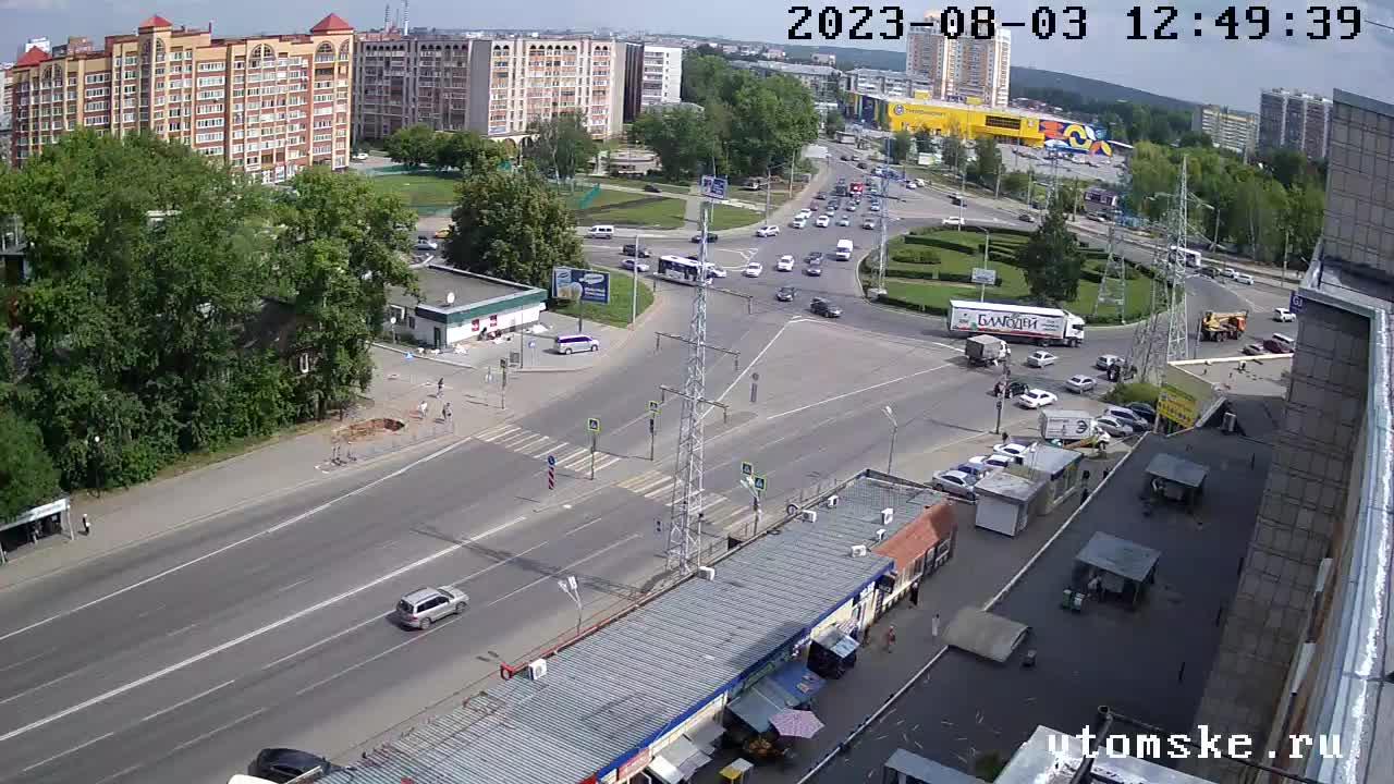 Веб камеры в Томске